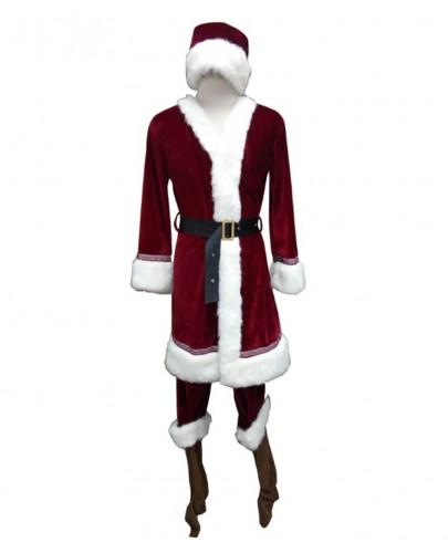 Men's Deluxe Classic Santa Claus Suit HC-030