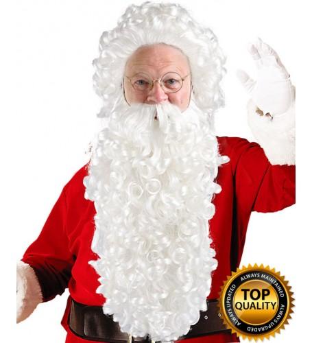 Super Long Santa Claus Wig and Beard Set Deluxe HX-009