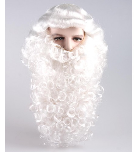 Professional Santa Claus Wig and Beard Set HX-001