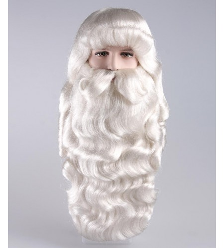 Xmas Party Super Santa Claus Wig and Beard Set HX-003