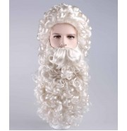 Curly Santa Claus Wig and Beard Set HX-006