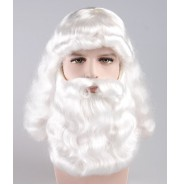 Adult Fancy Santa Claus Wig and Beard Set HX-008