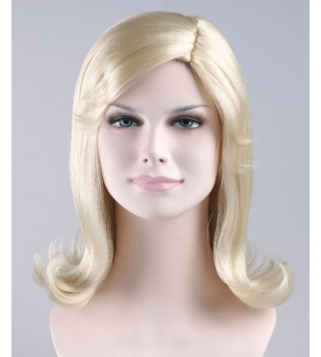 Blonde Pageboy Adult Wig
