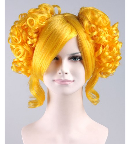 Yelllow Candy Wig