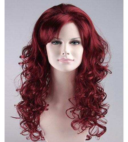 Silver Screen Sensation Red Adult Wig