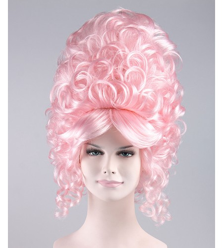 Pink Simpsons Marge Glam Wig