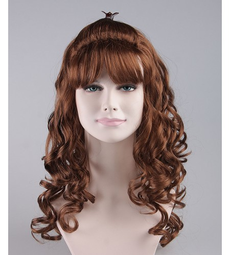 Angel Brown Wavy Wig